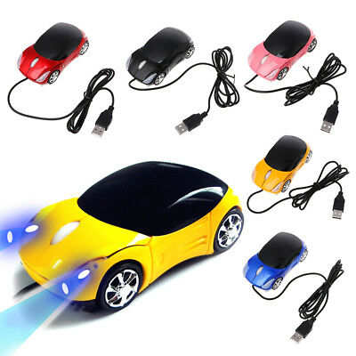 1000DPI Computer Parts USB Wired 3D Optical Car Shape Mouse 1.5m/59inch Mini HE1