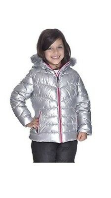 Girls 32 Degrees Silver Weatherproof Jacket. New