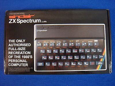 SINCLAIR ZX SPECTRUM The WIRELESS RECREATED EDITION NEW (Phone Tablet Mac PC TV)