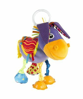 Lamaze Squeezy Donkey Clip on Pram and Pushchair Rattle/Toy Baby