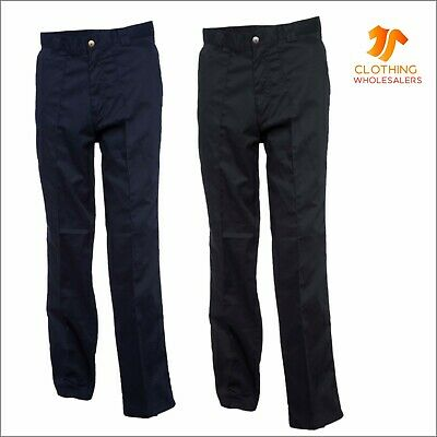 New Mens Womens Workwear Trousers Work Bottoms Safety Pockets Industry Pants