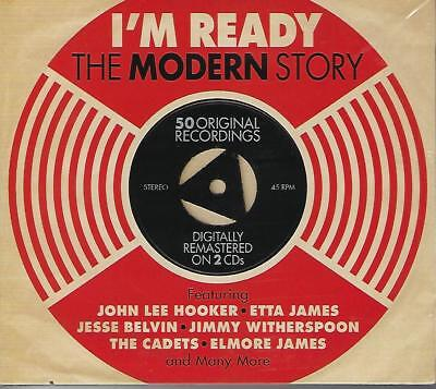 Various Artists I'M READY - MODERN RECORDS STORY New 2 CD R&B/Blues set 50 songs