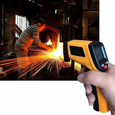 Top Non-Contact LCD IR Laser Infrared Digital Temperature Thermometer Gun RJ