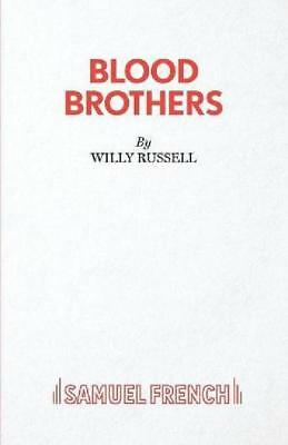 Blood Brothers by Willy Russell Paperback Book Free Shipping Brand NEw