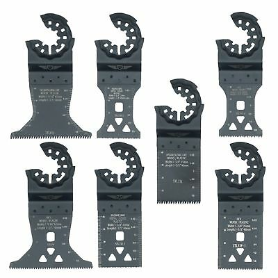 TopsTools x7 Mixed Blade Kit for Bosch Fein Starlock Plus Max AutoClic Multitool