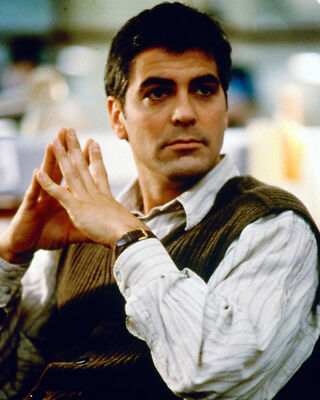 One Fine Day George Clooney 8X10 Photograph