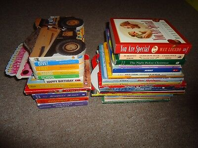Lot 29 Children's Board Books Animals Counting Good Night Moon Gorilla Holidays
