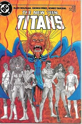 The New Teen Titans Comic Book #4 DC Comics 1985 NEAR MINT NEW UNREAD