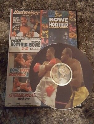 Evander Holyfield Vs Riddick Bowe trilogy I, II and III (1, 2 and 3) boxing DVD