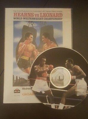 Thomas (Tommy) Hearns Vs Sugar Ray Leonard 1 and 2 Full fight boxing DVD