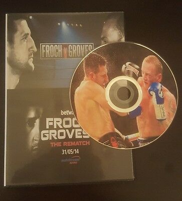 Carl Froch Vs George Groves I and II both fights (1 and 2) full DVD