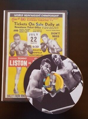 Sonny Liston Vs Floyd Patterson both fights 1 and 2 (I and II) Full boxing DVD