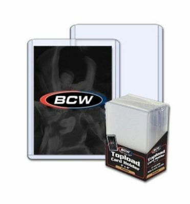 NEW (20 x 25) 500-BCW 3X4 Topload Card Holder-PREMIUM -Sport/Trading/Gaming Card