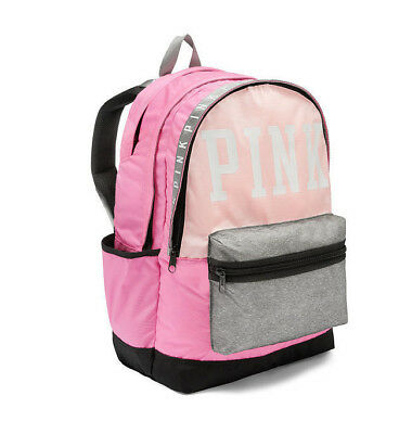 NEW!  Victoria's Secret PINK - Pink Campus and Collegiate Backpack!   NWT!
