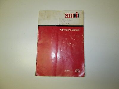 CASE 300 - 400 Tractor Operator's Manual