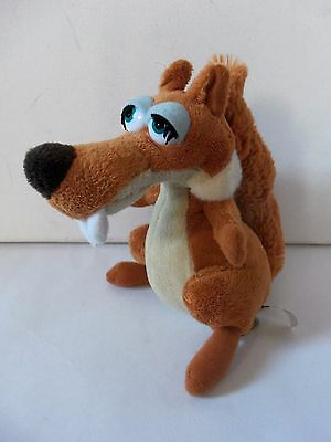 From Ice Age 3 Movie Scratte Girl Female Squirrel Plush Soft Toy Animal Figure