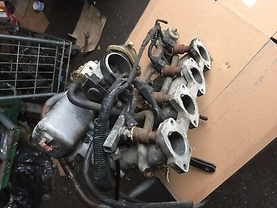 Peugeot 505 2.2 Gti Inlet Manifold, Throttle Body And Injectors