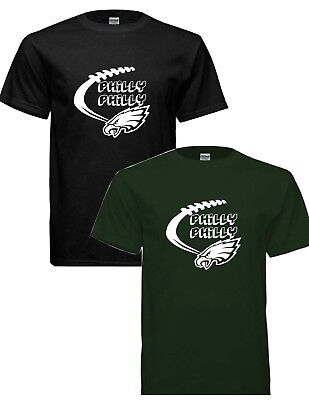 Awesome Eagles Philly Philly Football T- SHIRT free shipping!!