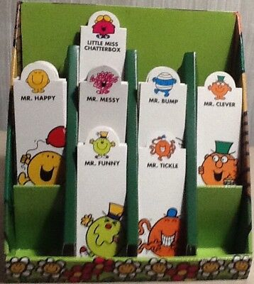 Mr Men and Little Miss Magnetic Bookmark - Various Designs (New)