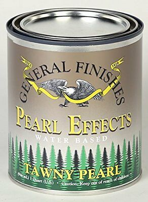 General Finishes Pearl Effects, 1 Pint, Tawny
