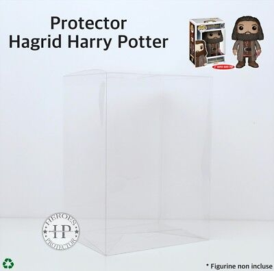 PROTECTOR HAGRID Harry Potter PROTECTION PLASTIQUE FUNKO POP Vinyl Box Case