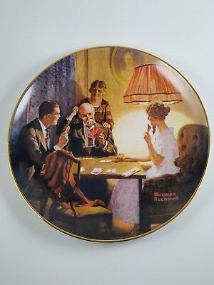 Norman Rockwell This is the Room that Light Made Plate – Knowles Fine China Art