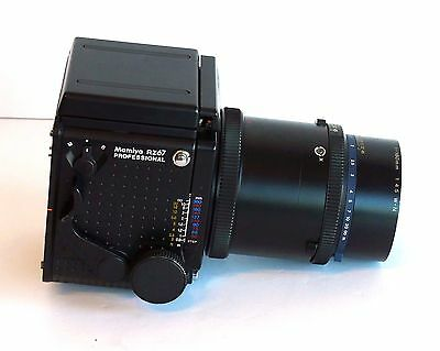 Mamiya RZ67 Professional Body with Waist-Level Finder & 180mm f/4.5 Lens - AS-IS