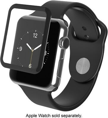ZAGG InvisibleShield Luxe Screen Protector for Apple Watch Series 1 - Black