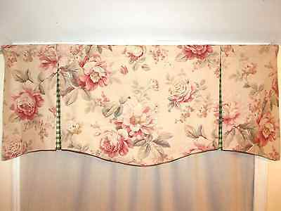 Custom Made To Order French Country Valance