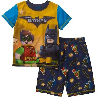 Boys Lego Batman The Movie 2pc Pajama's Set New with Tags Size 6/7 Spring/Summer