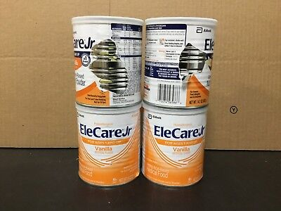 Elecare Jr Vanilla 14.1 oz 4 Cans Exp April 2018+