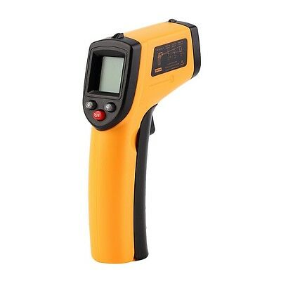 LCD Thermometer Non-Contact IR Laser Digital Infrared Handheld Temperature Gun