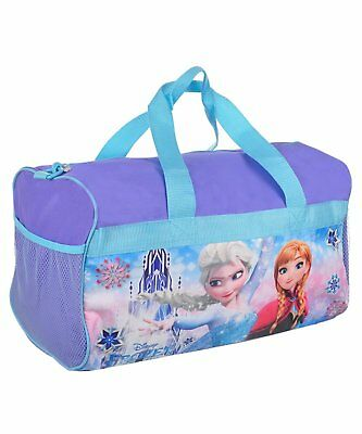 "Girls Disney Frozen Sisters Duffel Bag 18"" Girls"