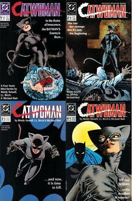 Catwoman #1-4 (Vol 1) Complete Set FN/VFN