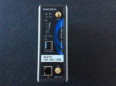 Moxa AWK-3121 Wireless Switch