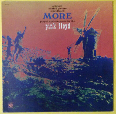 """PINK FLOYD - More OST (1975 reissue on US Harvest, with """"The Nile Song"""") EX+/EX+"""