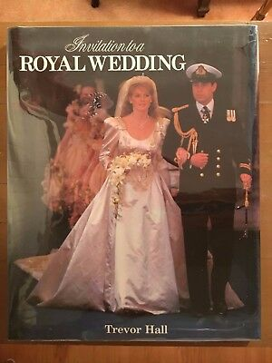 Invitation to a Royal Wedding Prince Andrew and Fergie by Trevor Hall MINT