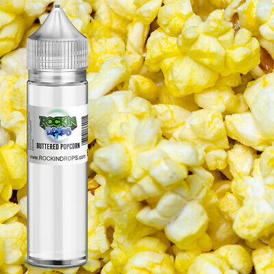ROCKIN DROPS Buttered Popcorn Flavoring Food Flavoring 10ml 30ml 50ml 120ml