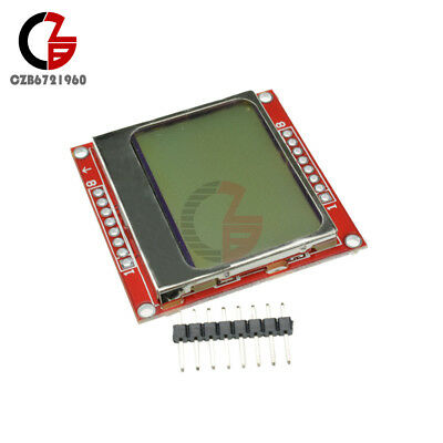 1pcs New Module Blue backlight 8448 84x84 LCD adapter PCB for Nokia 5110 for