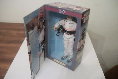 Dale Earnhardt Fully Poseable Figure still in the box excellent condition