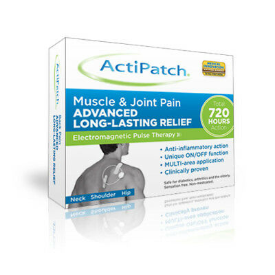 Actipatch Muscle and Joint Pain Relief 720 hours Electromagnetic Pulse Therapy