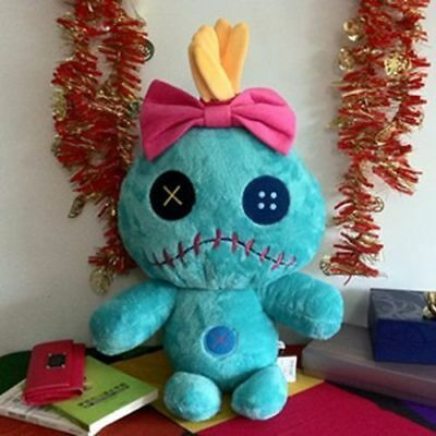 Cartoon Lilo and Stitch Scrump Plush Toy Stuffed Doll 30cm/12""