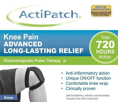 Actipatch Knee Pain Relief 720 hours Long Lasting Electromagnetic Pulse Therapy