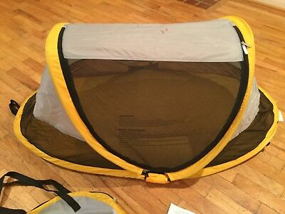KIDCO PEAPOD in Sunshine Yellow - Toddler Travel Bed