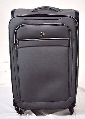 $320 REVO Evolution 29'' Expandable Spinner Travel Suitcase Luggage Gray