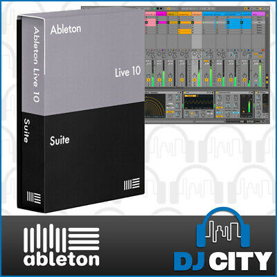 Ableton Live 10 Suite Music Production Software DAW Studio Recording Program