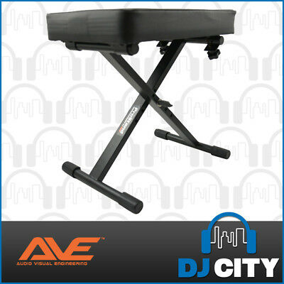Prostand KBS-70 Keyboard Stool Piano Bench Seat Collapsible & Adjustable Design