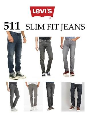Levis 511 Slim Fit Stretch Jeans For Men