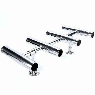 【Ships from CA】AM 4 Tube Adjustable Stainless Rocket Launcher Rod Holders