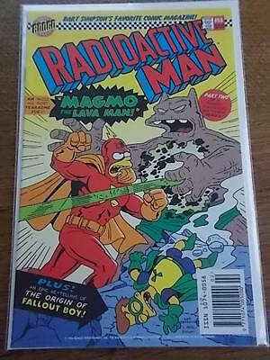 BONGO Group Comics BART SIMPSONS favourite Comic Magazine RADIOACTIVE MAN #88